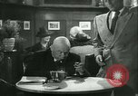 Image of men in bar Germany, 1941, second 21 stock footage video 65675020685