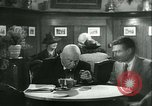 Image of men in bar Germany, 1941, second 22 stock footage video 65675020685