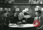 Image of men in bar Germany, 1941, second 23 stock footage video 65675020685