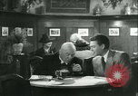 Image of men in bar Germany, 1941, second 24 stock footage video 65675020685