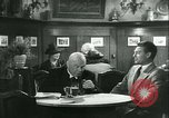 Image of men in bar Germany, 1941, second 25 stock footage video 65675020685