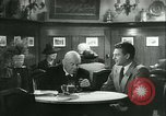 Image of men in bar Germany, 1941, second 26 stock footage video 65675020685