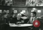 Image of men in bar Germany, 1941, second 27 stock footage video 65675020685