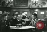 Image of men in bar Germany, 1941, second 28 stock footage video 65675020685