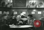 Image of men in bar Germany, 1941, second 30 stock footage video 65675020685