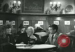 Image of men in bar Germany, 1941, second 31 stock footage video 65675020685