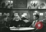 Image of men in bar Germany, 1941, second 32 stock footage video 65675020685