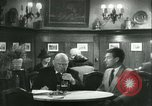 Image of men in bar Germany, 1941, second 34 stock footage video 65675020685