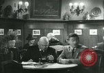 Image of men in bar Germany, 1941, second 36 stock footage video 65675020685
