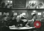 Image of men in bar Germany, 1941, second 37 stock footage video 65675020685