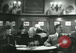 Image of men in bar Germany, 1941, second 38 stock footage video 65675020685