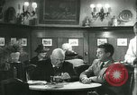 Image of men in bar Germany, 1941, second 40 stock footage video 65675020685
