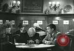 Image of men in bar Germany, 1941, second 49 stock footage video 65675020685