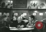 Image of men in bar Germany, 1941, second 52 stock footage video 65675020685