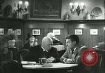 Image of men in bar Germany, 1941, second 57 stock footage video 65675020685