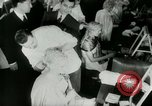 Image of Coiffures compete Paris France, 1953, second 10 stock footage video 65675020698