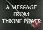 Image of Tyrone Power United States USA, 1953, second 3 stock footage video 65675020701