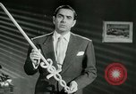 Image of Tyrone Power United States USA, 1953, second 35 stock footage video 65675020701