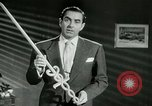 Image of Tyrone Power United States USA, 1953, second 41 stock footage video 65675020701