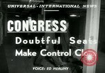 Image of 82nd Cogressional Electiions United States USA, 1950, second 2 stock footage video 65675020703