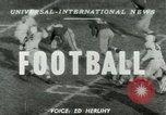 Image of Football match Lawrence Kansas USA, 1950, second 1 stock footage video 65675020705