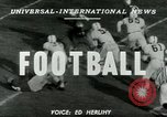 Image of Football match Lawrence Kansas USA, 1950, second 2 stock footage video 65675020705