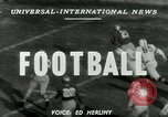 Image of Football match Lawrence Kansas USA, 1950, second 3 stock footage video 65675020705