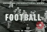 Image of Football match Lawrence Kansas USA, 1950, second 4 stock footage video 65675020705
