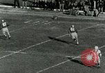 Image of Football match Lawrence Kansas USA, 1950, second 25 stock footage video 65675020705