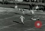 Image of Football match Lawrence Kansas USA, 1950, second 27 stock footage video 65675020705