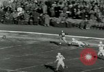 Image of Football match Lawrence Kansas USA, 1950, second 29 stock footage video 65675020705