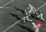 Image of Football match Lawrence Kansas USA, 1950, second 40 stock footage video 65675020705