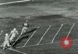 Image of Football match Lawrence Kansas USA, 1950, second 46 stock footage video 65675020705