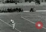 Image of Football match Lawrence Kansas USA, 1950, second 62 stock footage video 65675020705