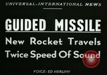 Image of rocket driven missile Utah United States USA, 1953, second 5 stock footage video 65675020708