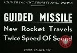Image of rocket driven missile Utah United States USA, 1953, second 6 stock footage video 65675020708
