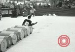 Image of Barrel jumping New York United States USA, 1953, second 4 stock footage video 65675020710