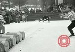 Image of Barrel jumping New York United States USA, 1953, second 7 stock footage video 65675020710
