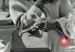 Image of Josef bags New York United States USA, 1953, second 11 stock footage video 65675020715