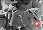 Image of Josef bags New York United States USA, 1953, second 20 stock footage video 65675020715