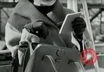 Image of Josef bags New York United States USA, 1953, second 22 stock footage video 65675020715