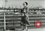 Image of Josef bags New York United States USA, 1953, second 48 stock footage video 65675020715