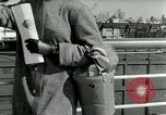 Image of Josef bags New York United States USA, 1953, second 53 stock footage video 65675020715