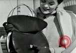 Image of Josef bags New York United States USA, 1953, second 57 stock footage video 65675020715