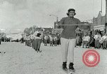 Image of Art Tokle Steamboat Springs Colorado USA, 1953, second 14 stock footage video 65675020716