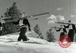 Image of Art Tokle Steamboat Springs Colorado USA, 1953, second 23 stock footage video 65675020716