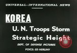 Image of United States troops Korea, 1953, second 13 stock footage video 65675020717