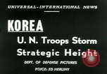 Image of United States troops Korea, 1953, second 15 stock footage video 65675020717