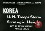 Image of United States troops Korea, 1953, second 18 stock footage video 65675020717