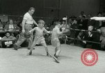 Image of Young boxers New York City USA, 1953, second 21 stock footage video 65675020723